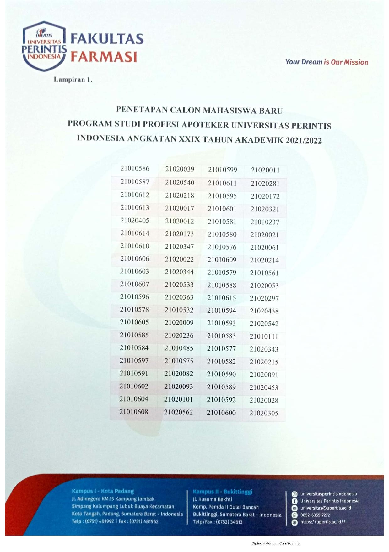 Hasil Seleksi PMB Apoteker 29_002